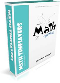 MATH TIMESAVERS - often used classroom math forms, useful and printable pages for the Intermediate & Junior math classroom.