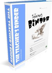 TEACHER'S BINDER - World's largest collection of often used classroom forms (interactive and printable). Helps teachers with classroom management, organization and saving time.