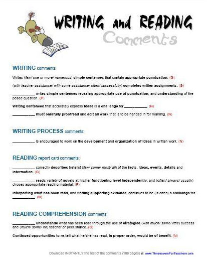 how to write a book report writing a book report