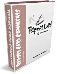 Report Card Comments e-Book